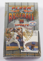 1996 Fleer Update Baseball Retail Box with (48) Packs at PristineAuction.com