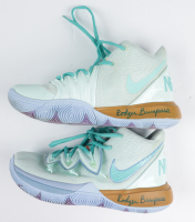 Pair of (2) Rodger Bumpass Signed Kyrie Irving Nike Basketball Shoes (PSA COA) at PristineAuction.com