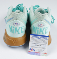 Pair of (2) Rodger Bumpass Signed Kyrie Irving Nike 5 Squidward Tentacles Basketball Shoes (PSA COA) at PristineAuction.com