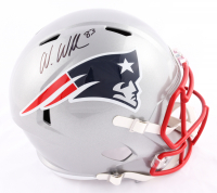 Wes Welker Signed Patriots Full-Size Speed Helmet (Beckett COA) at PristineAuction.com