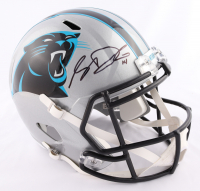 Sam Darnold Signed Panthers Full-Size Speed Helmet (Beckett COA & Darnold Hologram) at PristineAuction.com