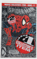 """Vintage 1990 """"Spider-Man: Torment"""" Vol. 1 Issue #1 Silver Edition Marvel Comic Book at PristineAuction.com"""