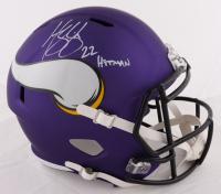 "Harrison Smith Signed Vikings Full-Size Speed Helmet Inscribed ""Hitman"" (Beckett COA) at PristineAuction.com"