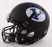 Zach Wilson Signed BYU Cougars Full-Size Helmet (Beckett COA) at PristineAuction.com