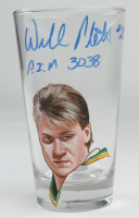"""Willi Plett Signed Custom Painted Glass Cup Inscribed """"P.I.M 3038"""" (PSA COA) at PristineAuction.com"""