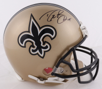 Drew Brees Signed Saints Full-Size Authentic On-Field Helmet (Beckett Hologram & Brees Hologram) at PristineAuction.com