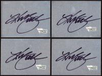 "Kurt Busch Signed 3"" x 4"" Metal Cut (Fanatics Hologram) (See Description) at PristineAuction.com"