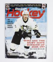 Evgeni Malkin Signed 2006 Beckett Hockey Card Monthly Magazine (PSA COA) at PristineAuction.com