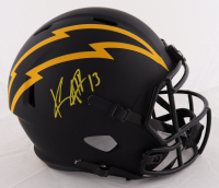 Keenan Allen Signed Chargers Full-Size Eclipse Alternate Speed Helmet (Beckett COA) (See Description) at PristineAuction.com