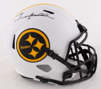 Terry Bradshaw Signed Steelers Full-Size Lunar Eclipse Alternate Speed Helmet (Beckett COA) (See Description) at PristineAuction.com