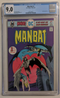 "1976 ""Man-Bat"" Issue #1 DC Comic Book (CGC 9.0) at PristineAuction.com"