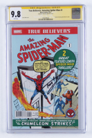 "Tom Holland Signed 2017 ""True Believers: The Amazing Spider-Man"" Issue #1 Marvel Comic Book (CGC 9.8) at PristineAuction.com"