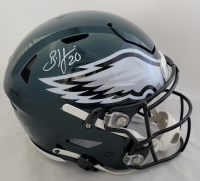 Brian Dawkins Signed Eagles Full-Size Authentic On-Field SpeedFlex Helmet (Beckett Hologram) at PristineAuction.com