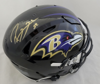 Ray Lewis Signed Ravens Full-Size Authentic On-Field SpeedFlex Helmet (Beckett COA) at PristineAuction.com