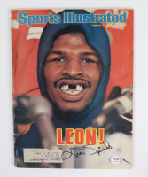 Leon Spinks Signed 1978 Sports Illustrated Magazine (PSA COA) (See Description) at PristineAuction.com
