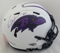 Ray Lewis Signed Ravens Full-Size Authentic On-Field Lunar Eclipse Alternate Speed Helmet (Beckett COA) at PristineAuction.com