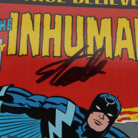"""Stan Lee Signed 2017 """"True Believers: The Inhumans"""" Issue #1 Marvel Comic Book (CGC 9.8) at PristineAuction.com"""