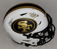 Nick Bosa Signed 49ers Full-Size Authentic On-Field Lunar Eclipse Alternate SpeedFlex Helmet (Beckett Hologram) at PristineAuction.com