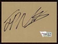 """Juan Pablo Montoya Signed 3"""" x 4"""" Vinyl Cut (Fanatics Hologram) (See Description) at PristineAuction.com"""