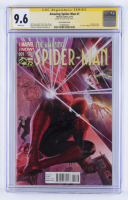 "Stan Lee Signed 2014 ""The Amazing Spiderman"" Issue #1 Marvel Comic Book (CGC 9.6) at PristineAuction.com"