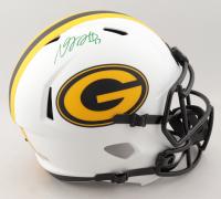 Davante Adams Signed Packers Full-Size Lunar Eclipse Alternate Speed Helmet (Beckett Hologram) (See Description) at PristineAuction.com