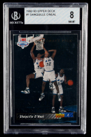 Shaquille O'Neal 1992-93 Upper Deck #1 SP NBA First Draft Pick RC (BGS 8) at PristineAuction.com