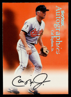 Cal Ripken 2000 SkyBox Autographics #107 at PristineAuction.com