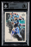 Luis Robert Signed 2020 Diamond Kings #95 RC (BGS Encapsulated) at PristineAuction.com