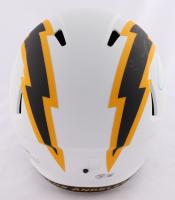 "LaDainian Tomlinson Signed Chargers Full-Size Lunar Eclipse Alternate Speed Helmet Inscribed ""HOF 17"" (Beckett Hologram & Tomlinson Hologram) at PristineAuction.com"