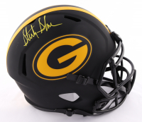 Sterling Sharpe Signed Packers Full-Size Eclipse Alternate Speed Helmet (Beckett Hologram) at PristineAuction.com
