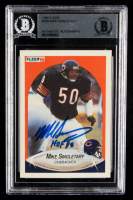 "Mike Singletary Signed 1990 Fleer #299 Inscribed ""HOF 98"" (BGS Encapsulated) at PristineAuction.com"