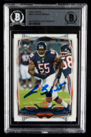 Lance Briggs Signed 2014 Topps #207 (BGS Encapsulated) at PristineAuction.com