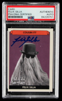 """Felix Silla Signed """"The Addams Family"""" Card (PSA Encapsulated) at PristineAuction.com"""