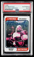 Artimus Pyle Signed Phantom Cardboard Card (PSA Encapsulated) at PristineAuction.com