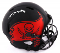 Antonio Brown Signed Buccaneers Full-Size Eclipse Alternate Speed Helmet (JSA Hologram) (See Description) at PristineAuction.com