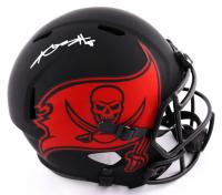 Antonio Brown Signed Buccaneers Full-Size Eclipse Alternate Speed Helmet (JSA Hologram) (See Description) at PristineAuction.com