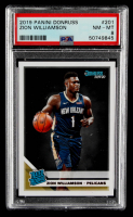 Zion Williamson 2019-20 Clearly Donruss #51 RR RC (PSA 8) at PristineAuction.com
