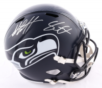 Shaquem Griffin & Shaquill Griffin Signed Seahawks Full-Size Speed Helmet (JSA COA) (See Description) at PristineAuction.com