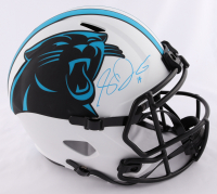 Sam Darnold Signed Panthers Full-Size Lunar Eclipse Alternate Speed Helmet (Beckett COA & Darnold Hologram) at PristineAuction.com
