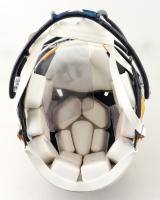 Marshall Faulk Signed Rams Full-Size Hydro-Dipped Speed Helmet (Radtke COA) (See Description) at PristineAuction.com