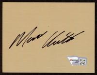 """Matt Kenseth Signed 3"""" x 4"""" Vinyl Cut (Fanatics Hologram) (See Description) at PristineAuction.com"""