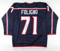 Nick Foligno Signed Jersey (Beckett COA) (See Description) at PristineAuction.com