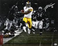 James Harrison Signed Steelers 16x20 Photo (Beckett COA) (See Description) at PristineAuction.com