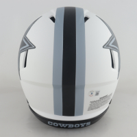 Dak Prescott Signed Cowboys Full-Size Authentic On-Field Lunar Alternate Speed Helmet (Beckett Hologram) at PristineAuction.com