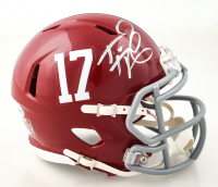 Tua Tagovailoa Signed Alabama Crimson Tide Speed Mini Helmet (Beckett COA) (See Description) at PristineAuction.com