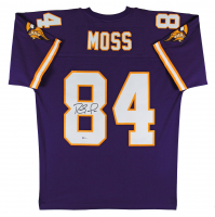 Randy Moss Signed Vikings Jersey (Beckett COA) at PristineAuction.com