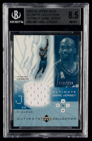 Michael Jordan 2001-02 Ultimate Collection Jerseys #MJ (BGS 8.5) at PristineAuction.com