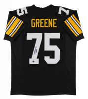 "Joe Greene Signed Jersey Inscribed ""HOF 87"" (Beckett Hologram) at PristineAuction.com"
