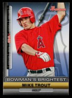 Mike Trout 2011 Bowman Bowman's Brightest #BBR6 at PristineAuction.com