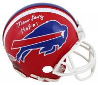 """Marv Levy Signed Bills Mini Helmet Inscribed """"HOF 01"""" (Beckett COA) at PristineAuction.com"""